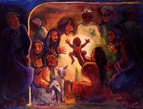 Zin in kerst – een warme stal en veel licht